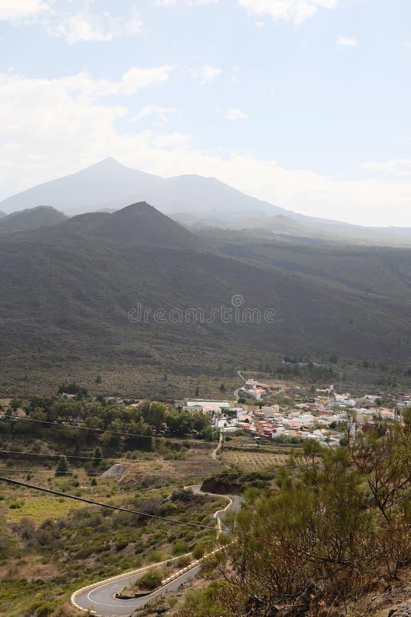 del Santiago teide zdjęcie royalty free