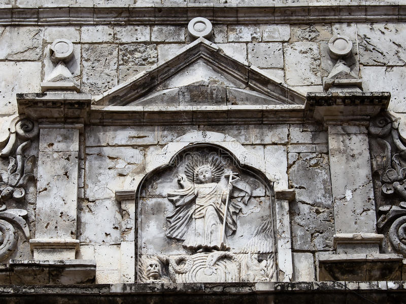 Del Santo Nino de basilique Cebu, Philippines photographie stock libre de droits