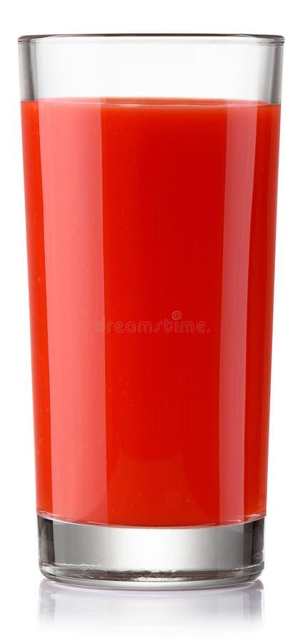 Del succo di pomodoro fresco fotografie stock libere da diritti