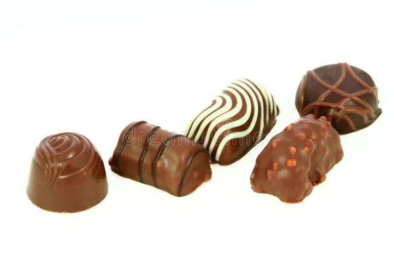Del tartufo di cioccolato fotografia stock