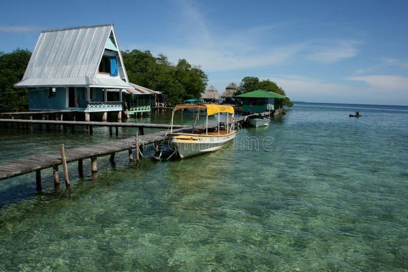 Del Toro, îles de Bocas au Panama photographie stock libre de droits