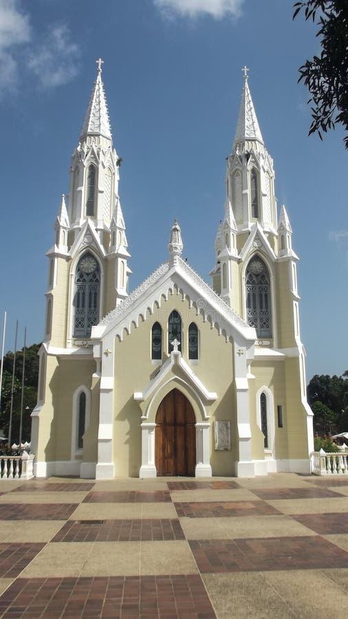 Del Valle di Iglesia Virgen fotografia stock libera da diritti