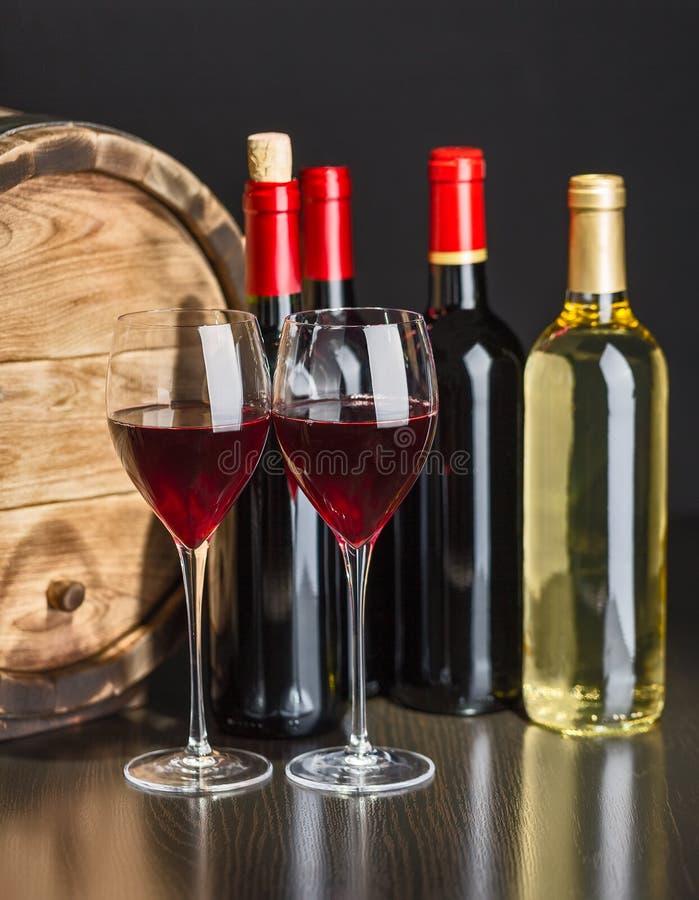 Del vino vita ancora fotografie stock libere da diritti