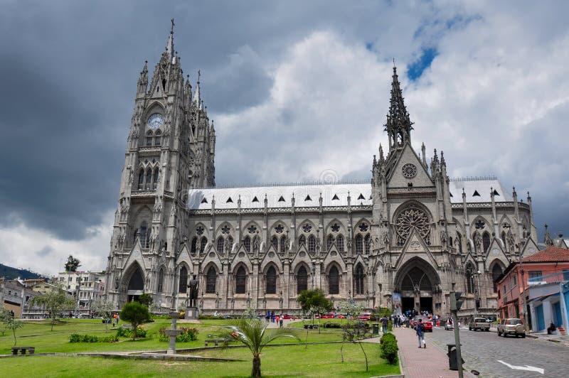 Del Voto Nacional, Equateur de basilique photos libres de droits