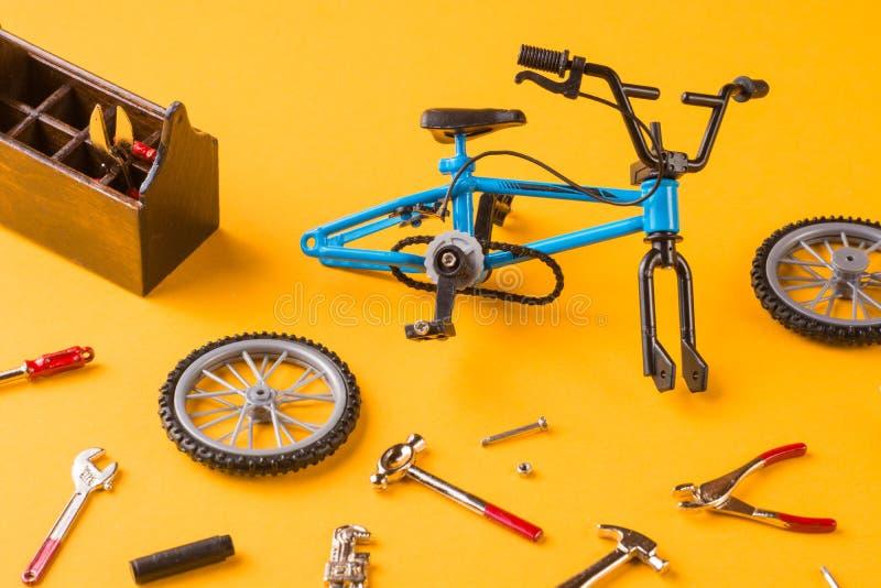 Delar av cykeln arkivfoto