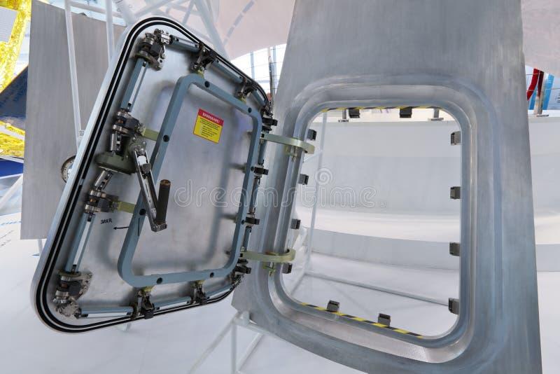 Delar av rymdskeppet arkivfoto