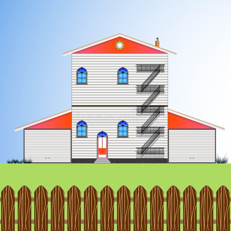 delar för byggnad vektor illustrationer