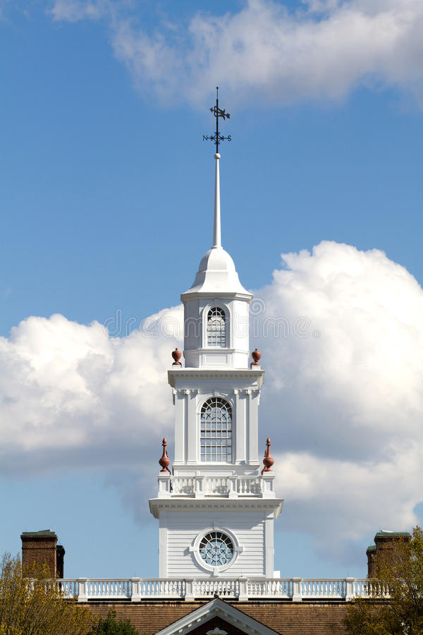 Delaware huvudstadkupol royaltyfri bild