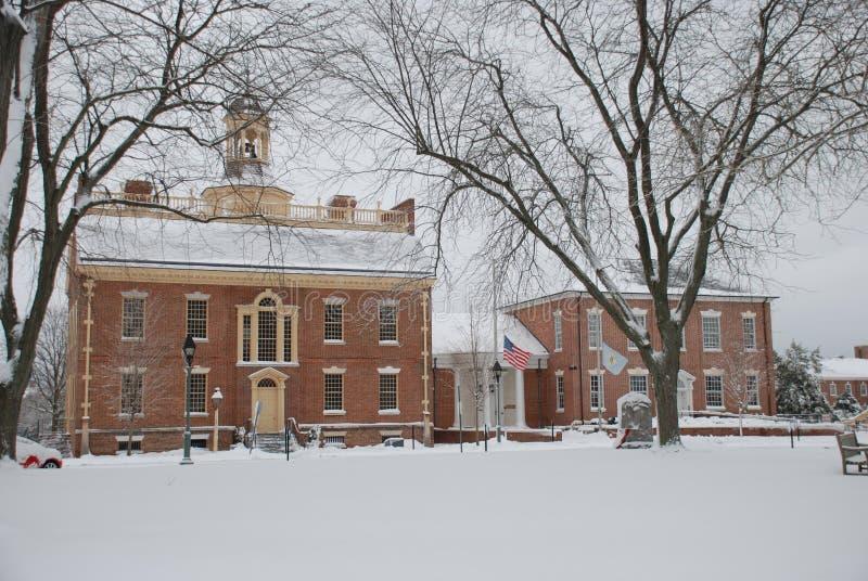 Delaware Kapitolium för originaltillstånd royaltyfria foton