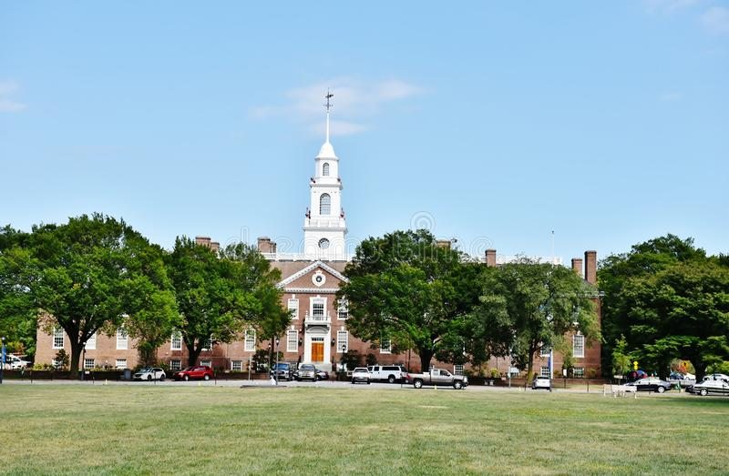 Delaware lagstiftnings- Hall royaltyfria foton