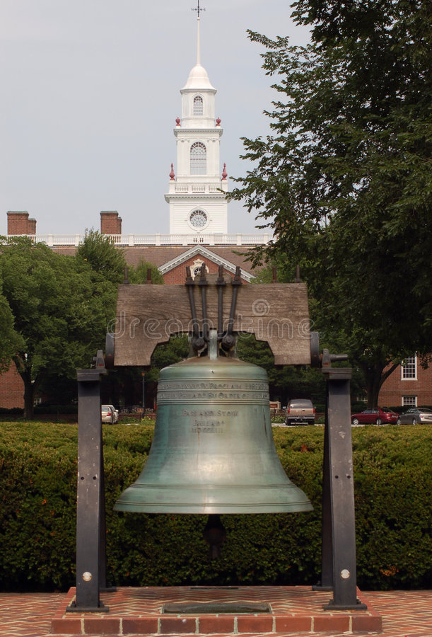 Download Delaware Liberty Bell stock photo. Image of anne, declaration - 1079198