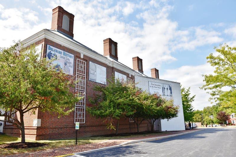 Delaware statallmänhet arkiverar dover royaltyfri bild