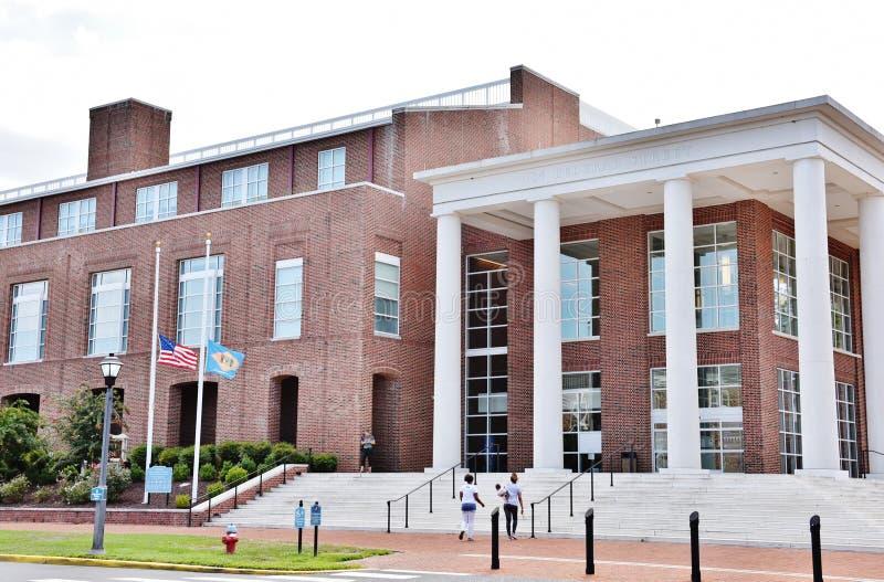 Delaware statKent County domstolsbyggnad dover royaltyfria bilder