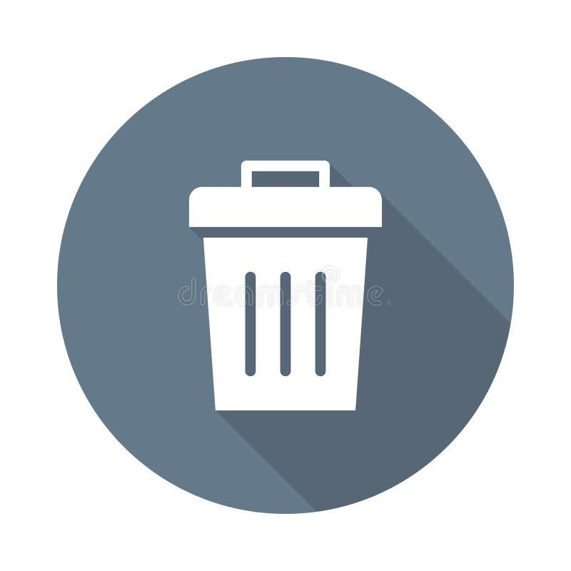 Deleatur ikona royalty ilustracja