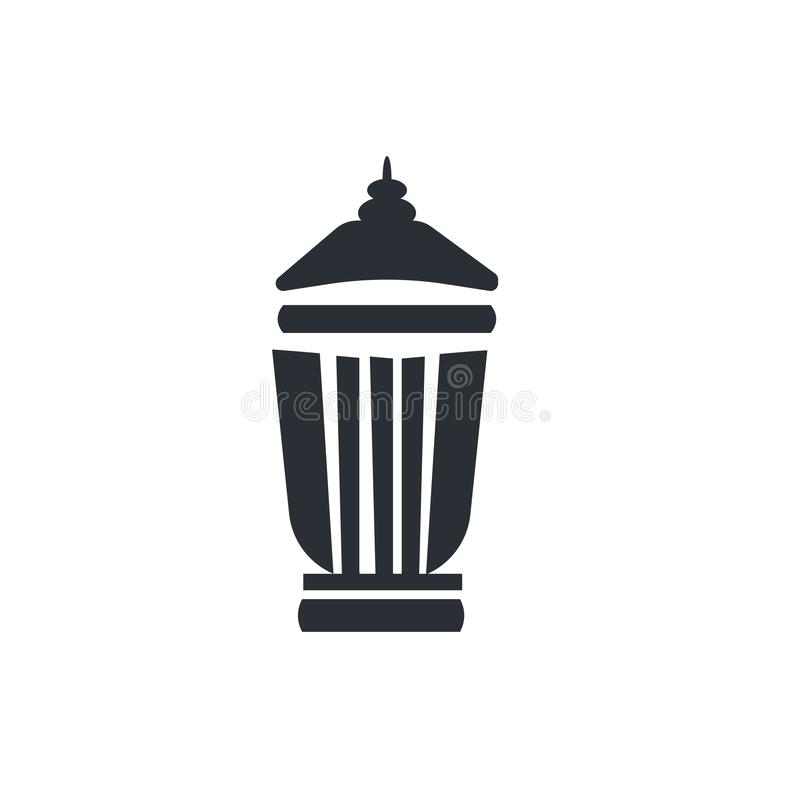 Deleatur kosza ikony wektoru znak i symbol odizolowywający na białym tle, deleatur kosza logo pojęcie ilustracja wektor
