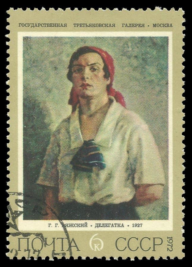 Delegat vid Rjashskij royaltyfri fotografi
