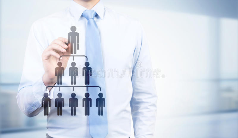 Delegate concept royalty free stock images
