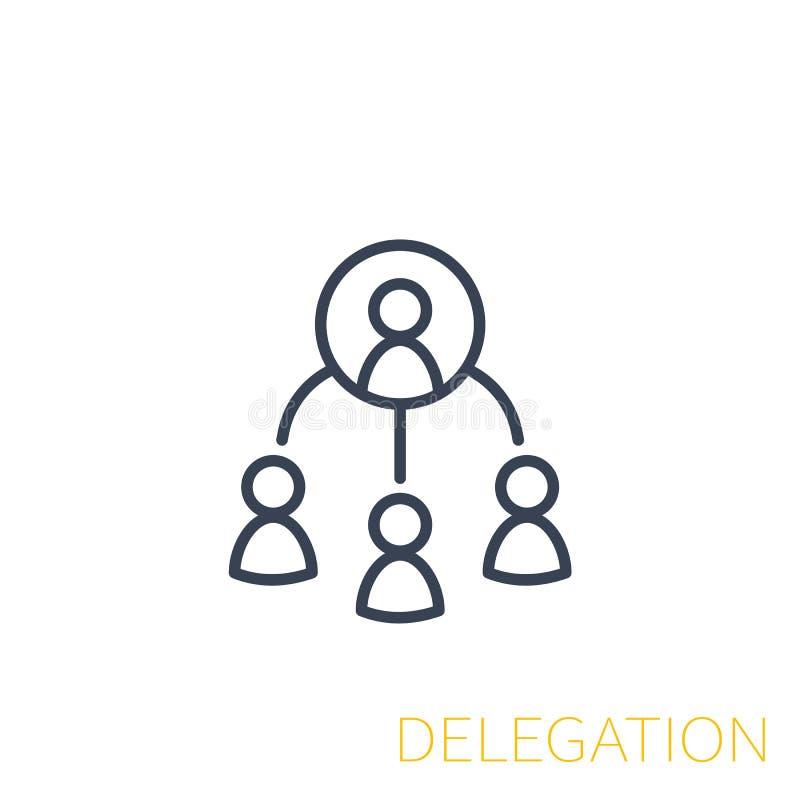 Delegationsikone, linear vektor abbildung