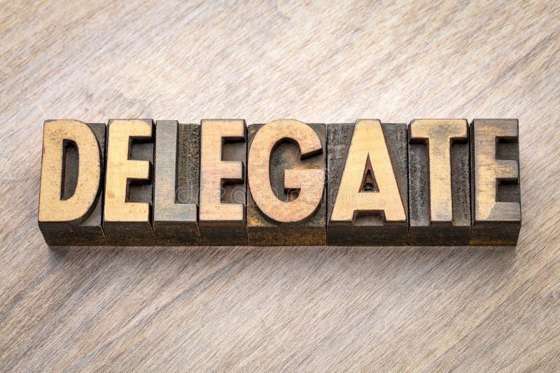 Delegatordabstrakt begrepp i wood typ royaltyfria foton