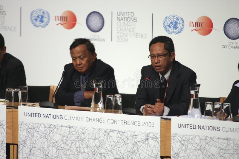 Delegazione dell'Indonesia immagini stock libere da diritti
