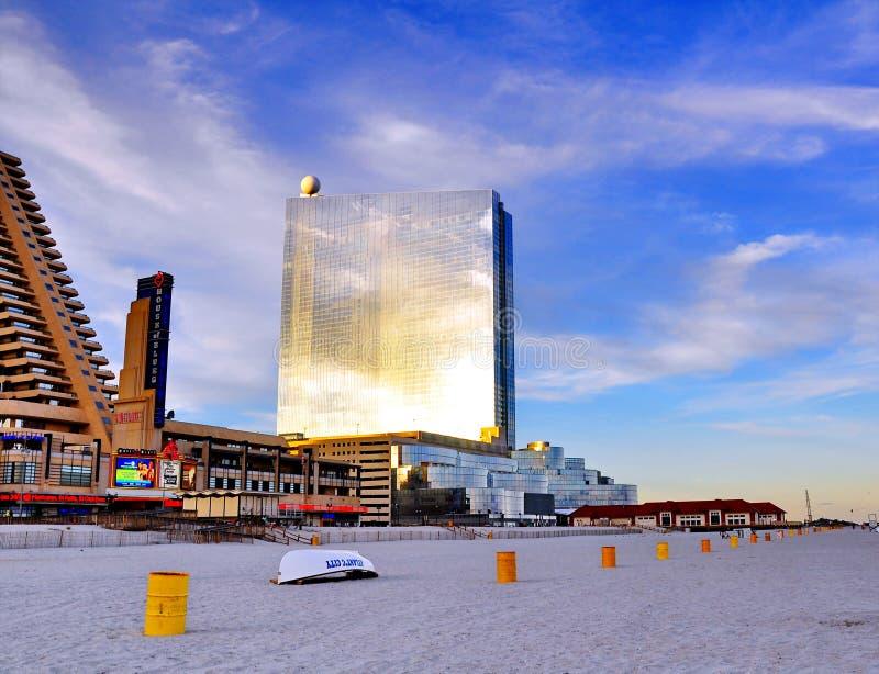 Deleitar com-se Atlantic City, NJ fotografia de stock royalty free