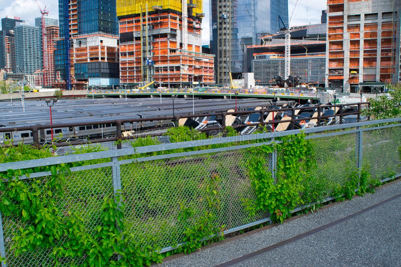 Delen van Hudson Yards Vessel in NYC -4 royalty-vrije stock foto