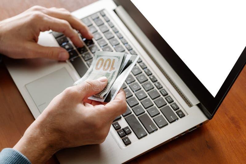 Deleopment app del software de Internet del dinero de la empresa de IT fotos de archivo libres de regalías