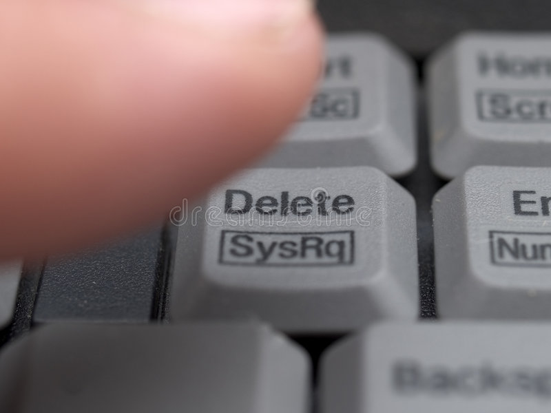 Download Delete stock photo. Image of erase, alter, right, mistake - 191262
