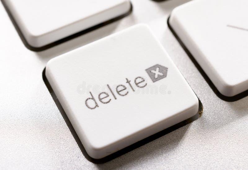 Delete button stock images