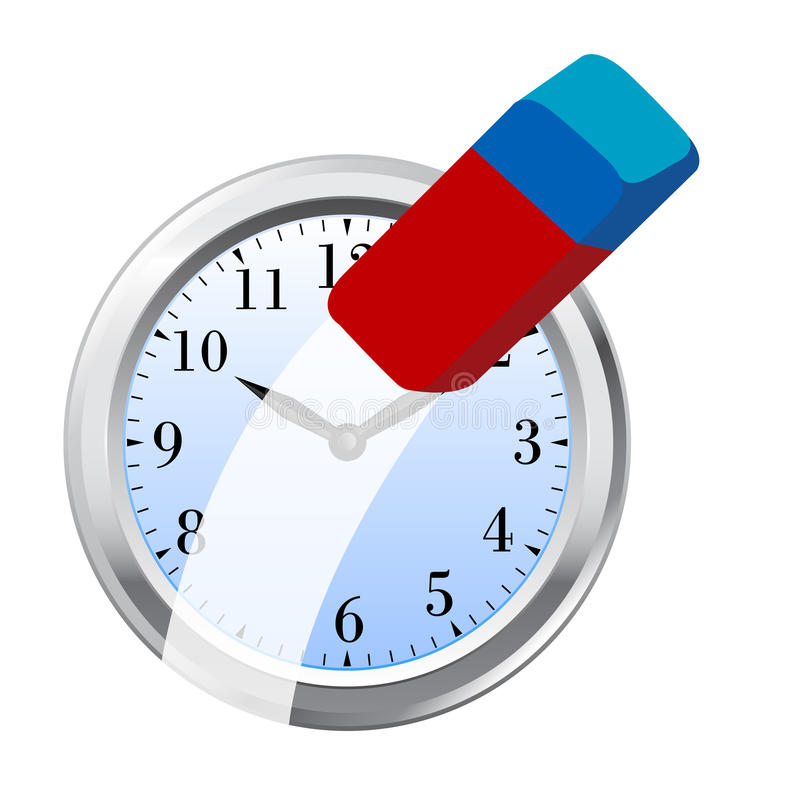 Download Delete The Time Concept Royalty Free Stock Photography - Image: 14067917