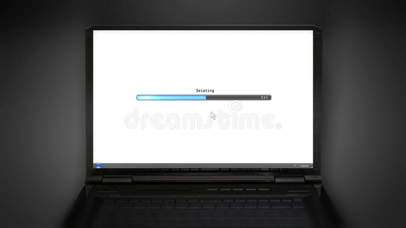 Deleting laptop screen  Communication, application