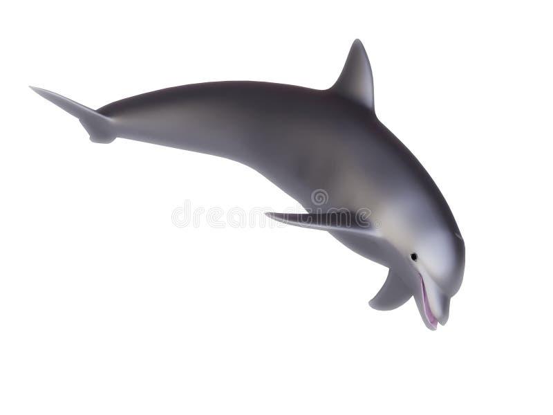 delfin 3d stock illustrationer