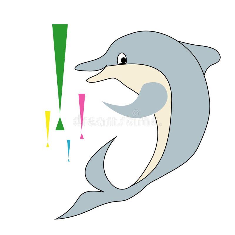delfin ilustracji
