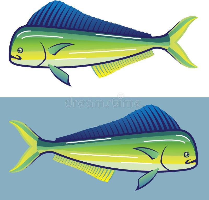 Delfin ryba ilustracja wektor
