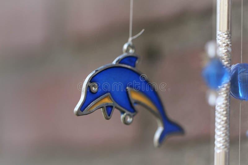 Delfin szkło zdjęcia stock