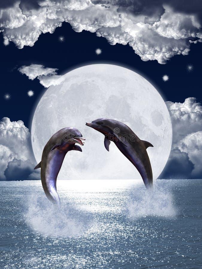 Delfini illustrazione vettoriale