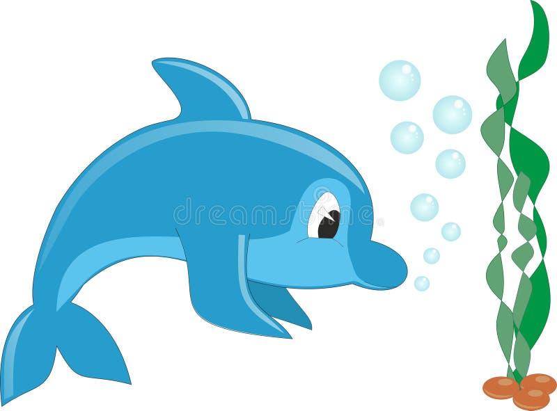 delfinu wektor royalty ilustracja