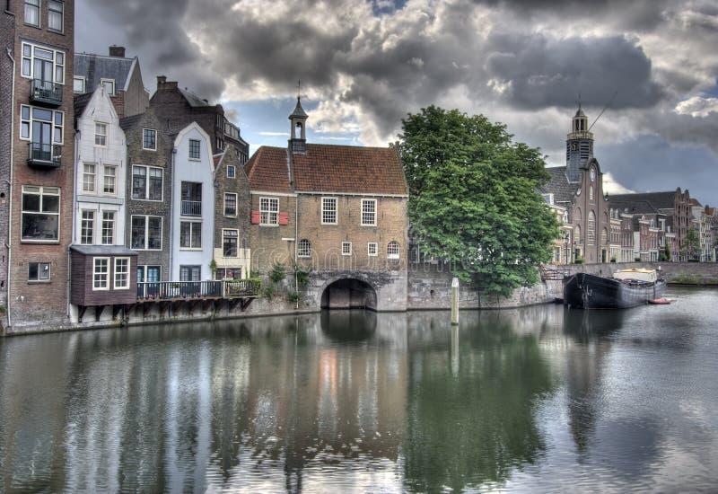 Delfshaven, Holland imagens de stock