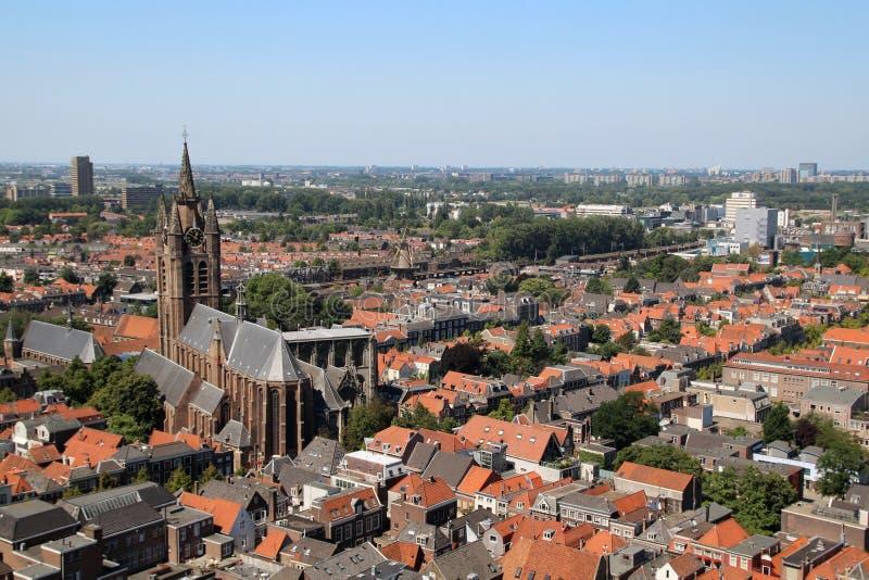 Delft, die Niederlande lizenzfreie stockbilder