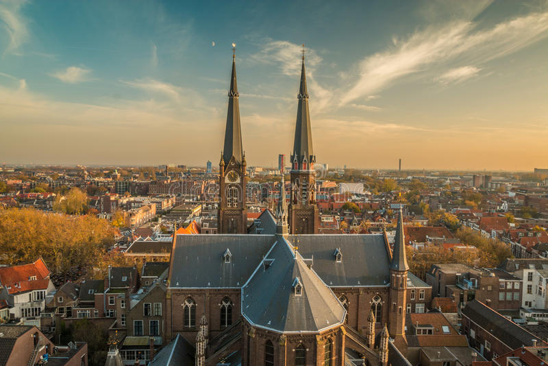 Delft holandie fotografia royalty free