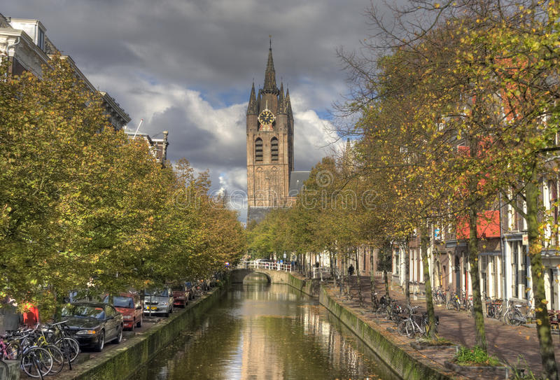 Download Delft, Holland stock photo. Image of season, town, holland - 17403762