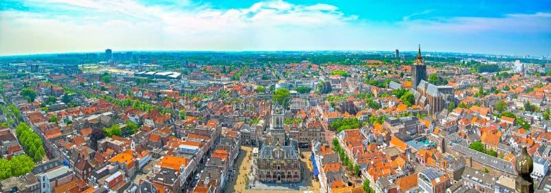 Delft nei Paesi Bassi fotografia stock