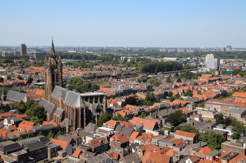 Delft, Netherlands. Delft is a city and a municipality in the European country Netherlands. There it forms part of the province of South Holland , where it is royalty free stock images