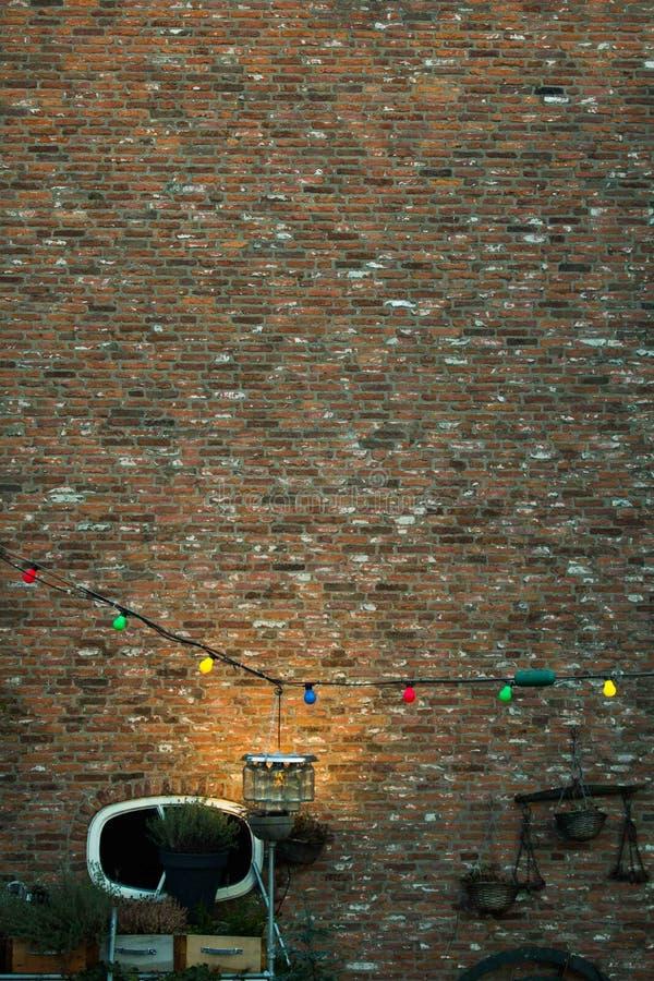 Delft-Ziegelsteine stockbild
