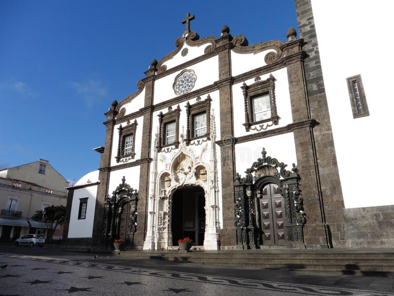 Delgada Açores di Ponta immagini stock libere da diritti
