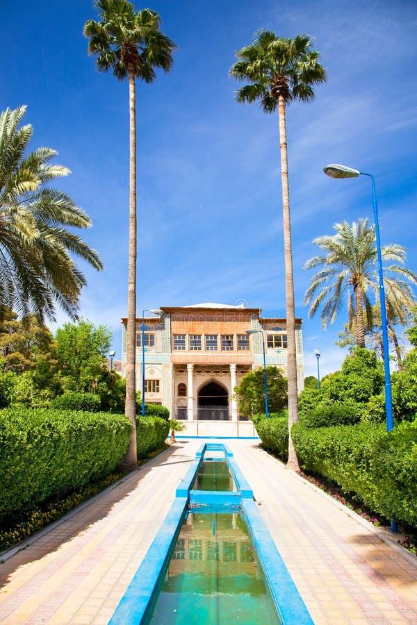 Delgosha Garten in Shiraz, der Iran stockbilder