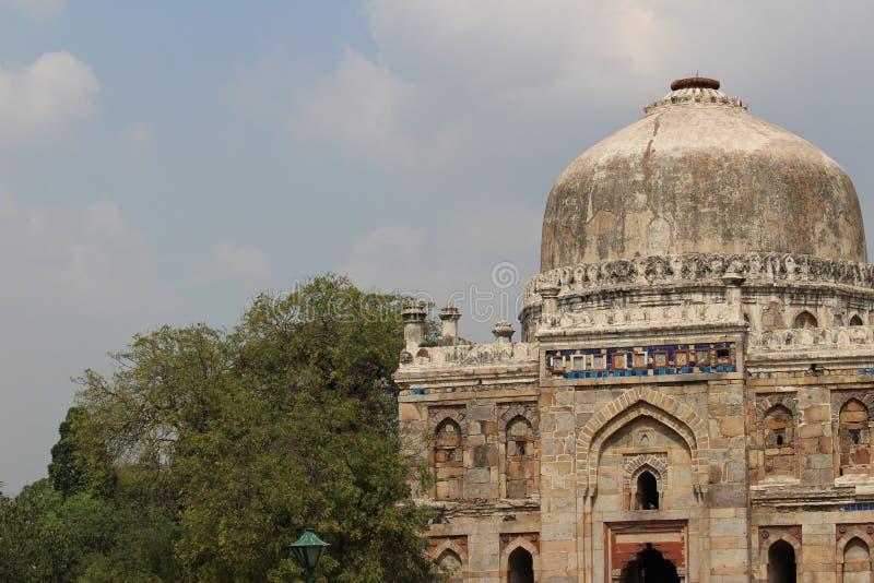 delhi садовничает lodi Индии новое стоковое фото