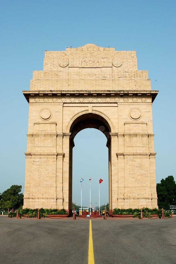 delhi bramy ind zabytek nowy zdjęcie stock