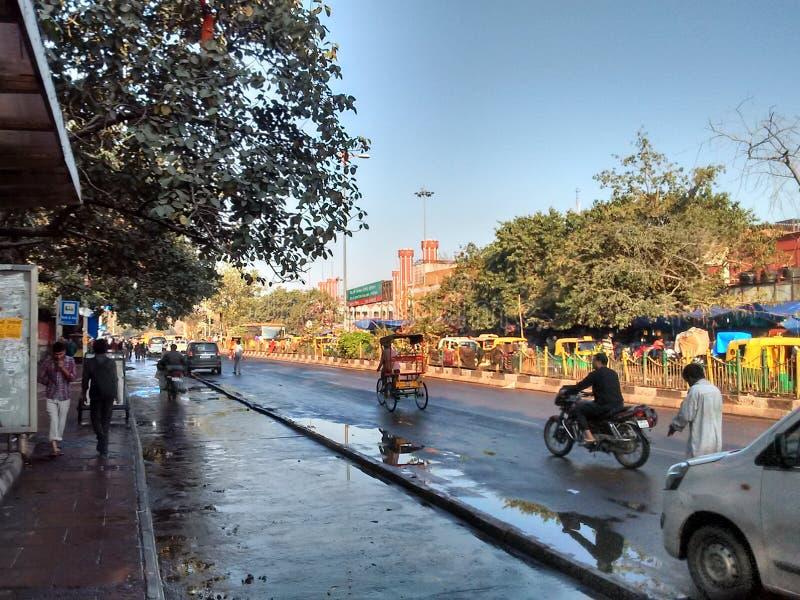 Delhi Chandni Chowk zdjęcie royalty free