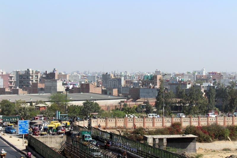 Delhi esterna immagini stock